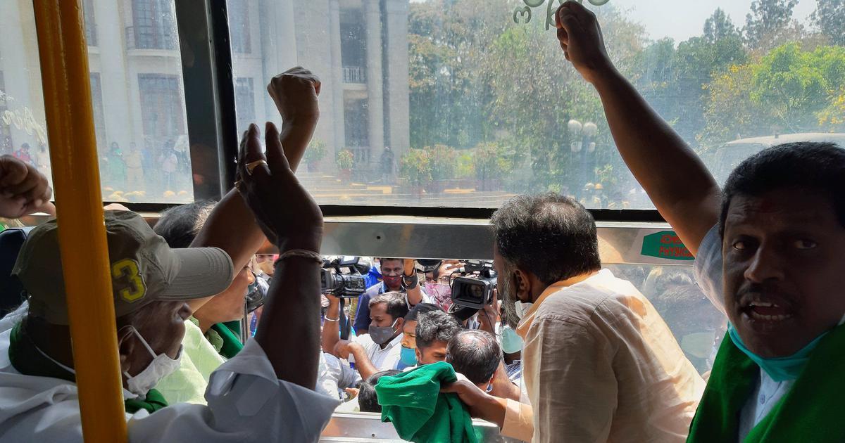 Bharat Bandh: Farmer leaders held in Ahmedabad, Bengaluru during strike against farm laws
