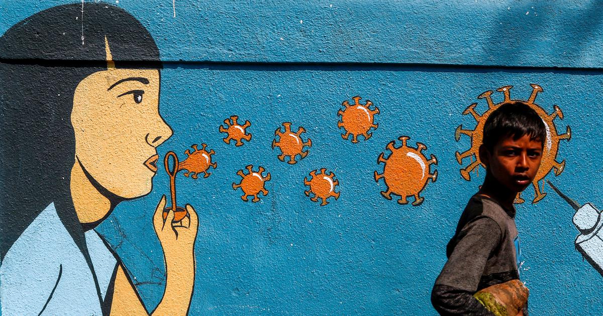 From Patna to Bengaluru, murals have become a record of the cornonavirus pandemic