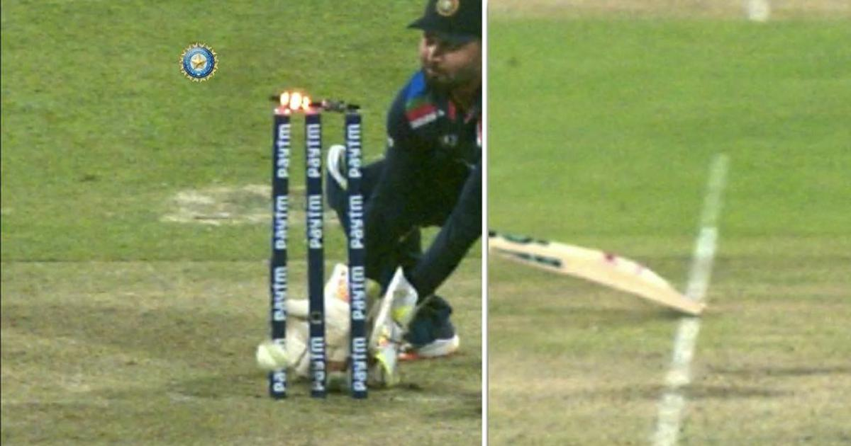 Out or not out? Ben Stokes survives a controversial run-out decision from third umpire in second ODI