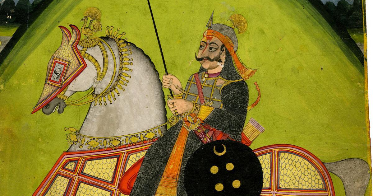 How Rajput weapons were influenced by groups they met on the battleground or for trade