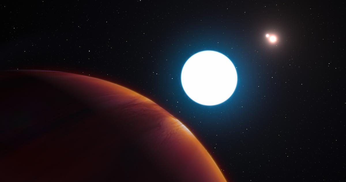 Straight out of science fiction: Scientists have discovered a planet in a triple-star system