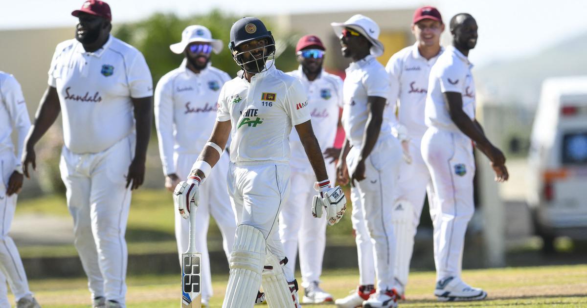 Second Test: Sri Lanka rally behind Thirimanne after West Indies captain Brathwaite's ton