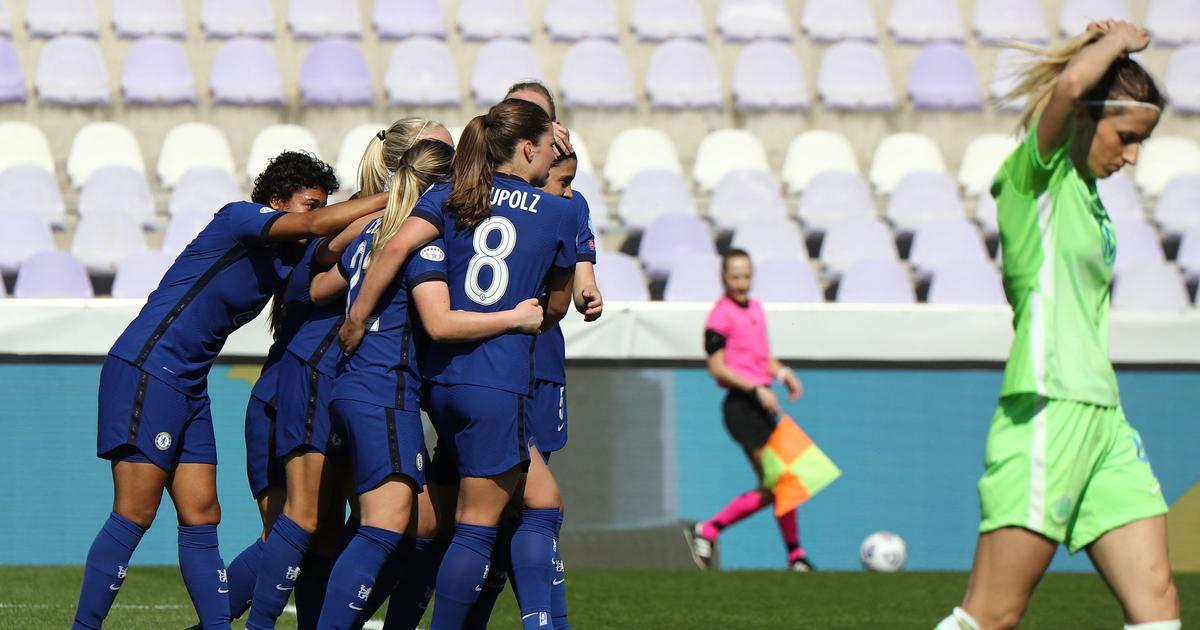 Women's Champions League: Chelsea thrash Wolfsburg to reach semis, Barcelona see off Manchester City