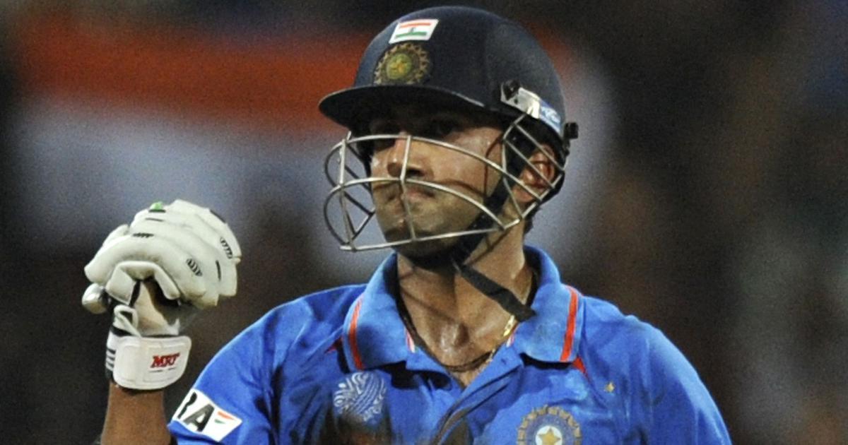 Watch: Gautam Gambhir's crucial knock when India were under pressure in the 2011 World Cup final