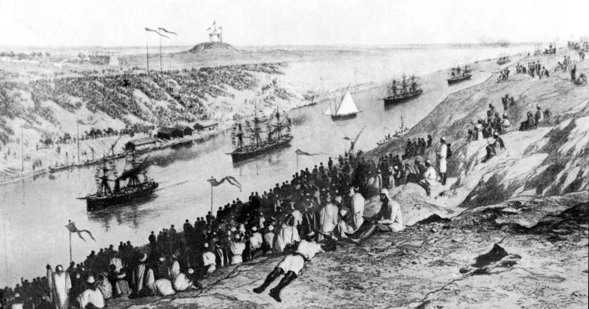 Britain's fixation with Suez Canal was as much about controlling Egypt as it was about global trade