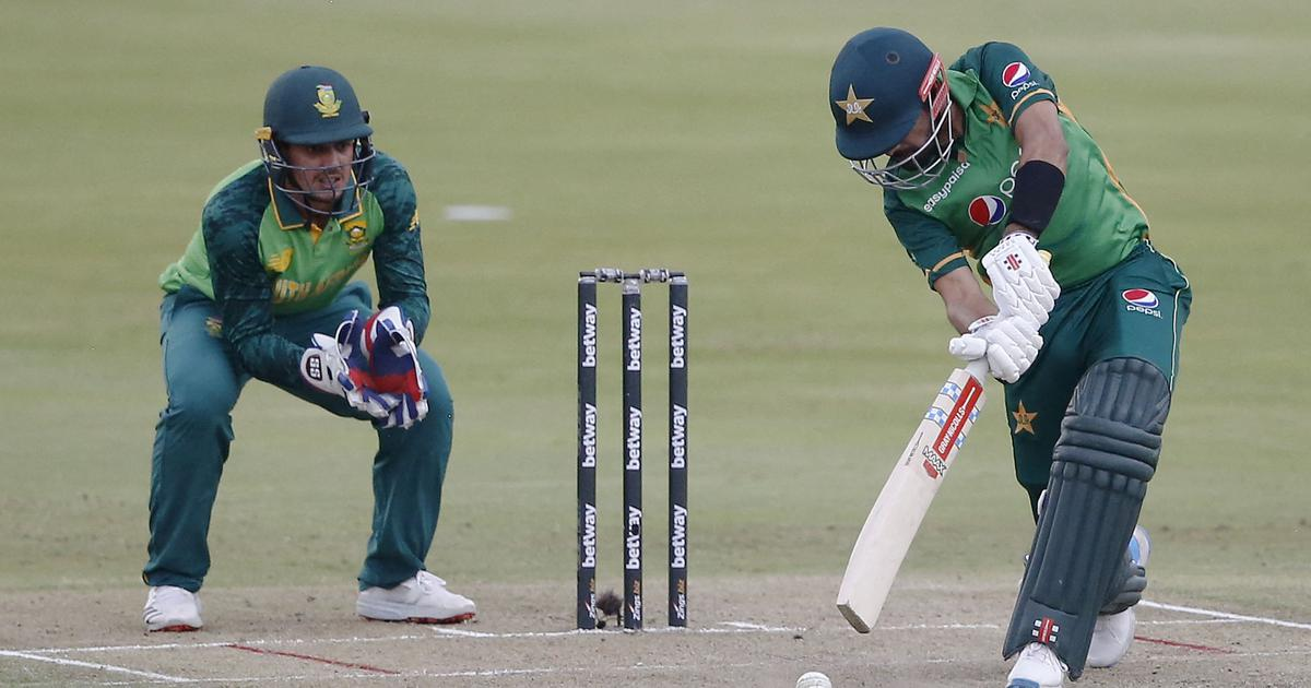First ODI: Babar Azam scores century before collapse as Pakistan beat South Africa off last ball