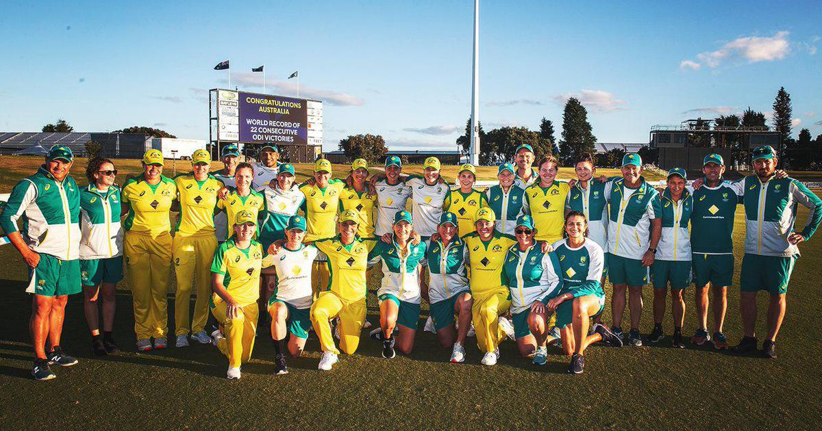 A remarkable group of women: Reactions to Australia's record of most consecutive ODI wins