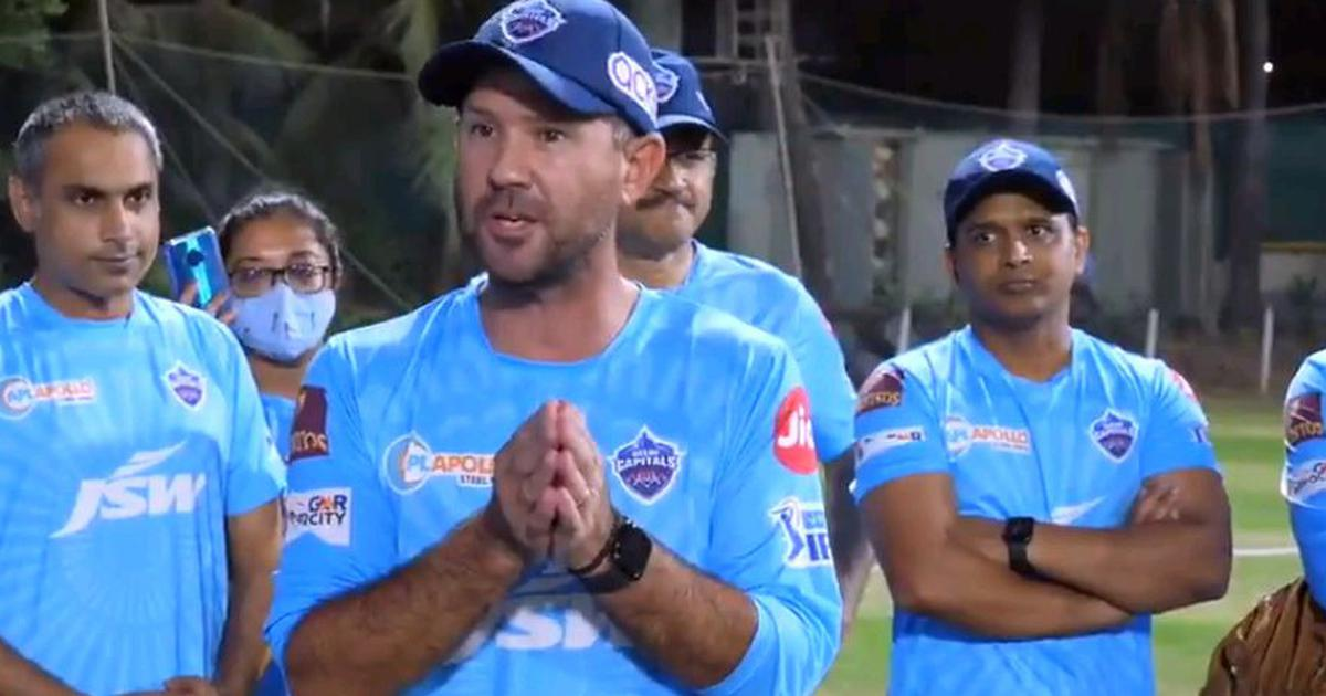 Watch: 'I'm here to win the title' – Ricky Ponting addresses Delhi Capitals squad ahead of IPL 2021