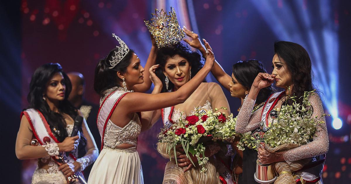 Sri Lanka: Mrs World Caroline Jurie arrested after chaos at beauty pageant