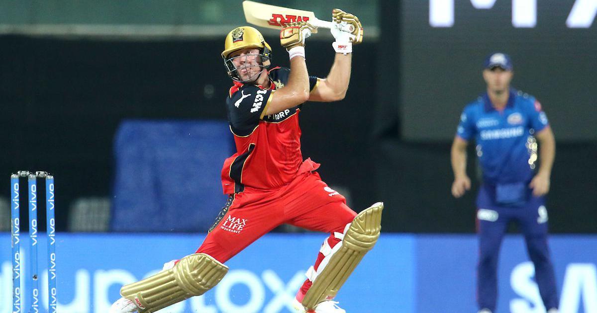 AB de Villiers, you cannot do that