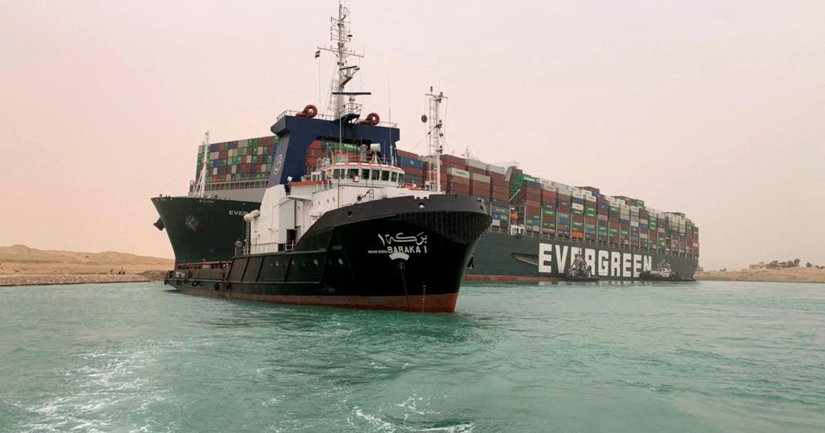Egypt says it won't release Ever Given with 25-member Indian crew until its owners pay compensation