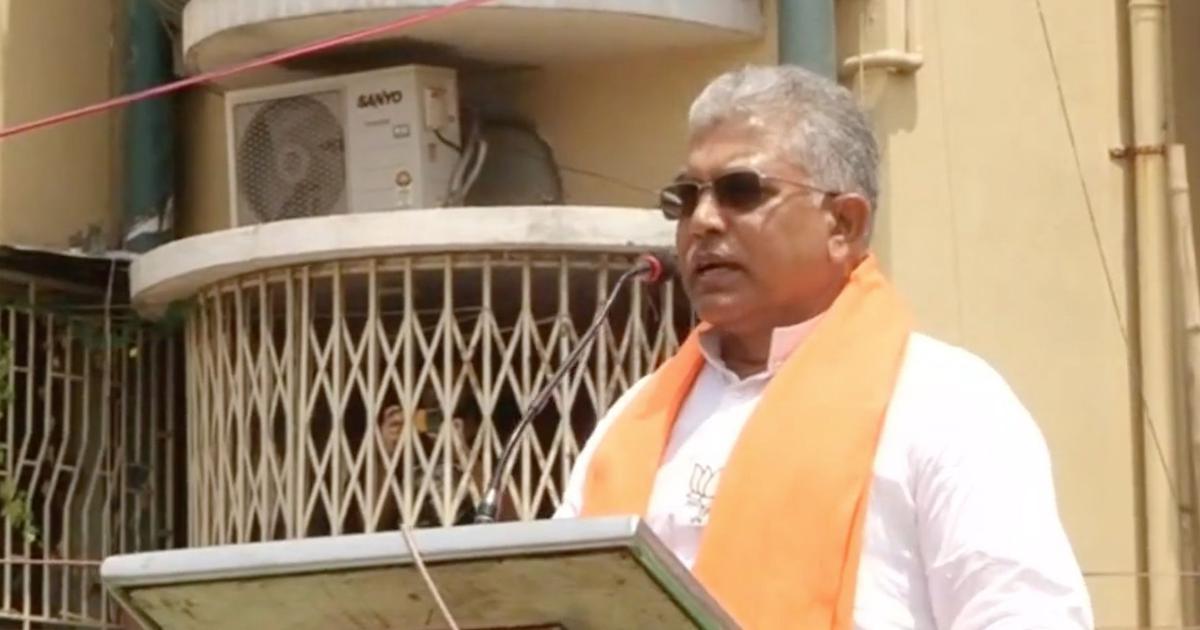 After Cooch Behar killings, BJP's Dilip Ghosh warns of more 'Sitalkuchi-like instances'