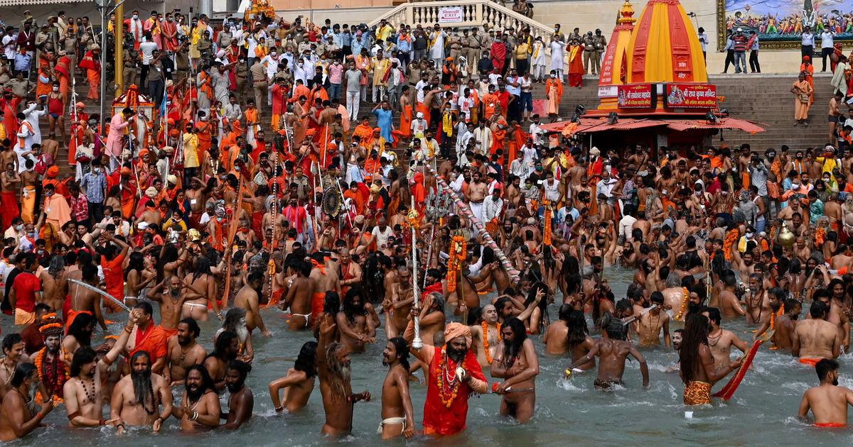 Kumbh Mela 2021: Amid fears over Kumbh Mela becoming a coronavirus superspreader event, a report stated several devotees test Covid-19 +ve.
