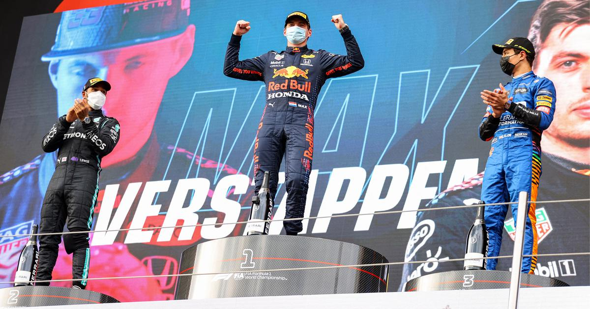 Formula One: Verstappen wins chaotic GP at Imola, Hamilton second after rare mistake