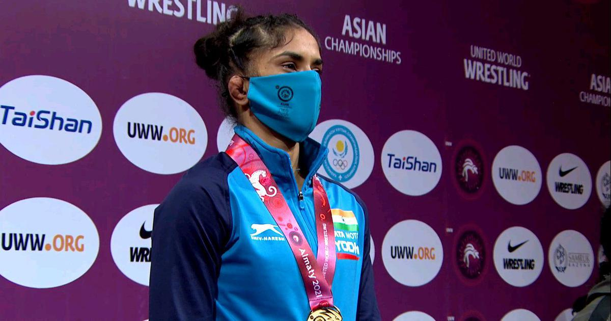 Watch highlights: Vinesh Phogat's ruthless run to a first Asian Wrestling Championships gold medal