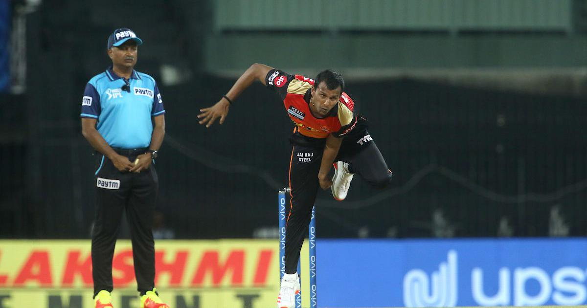 Sunrisers Hyderabad pacer T Natarajan might miss rest of IPL 2021 due to knee injury: Report