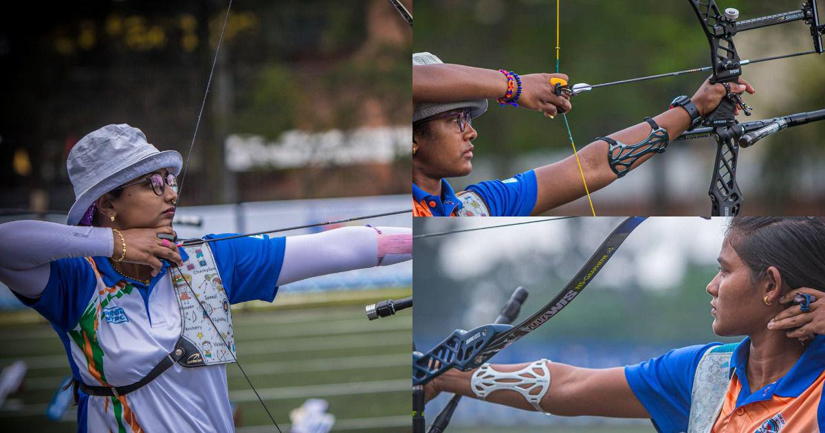 Archery World Cup: Indian women's team of Deepika Kumari, Ankita Bhakat, Komalika Bari reach final