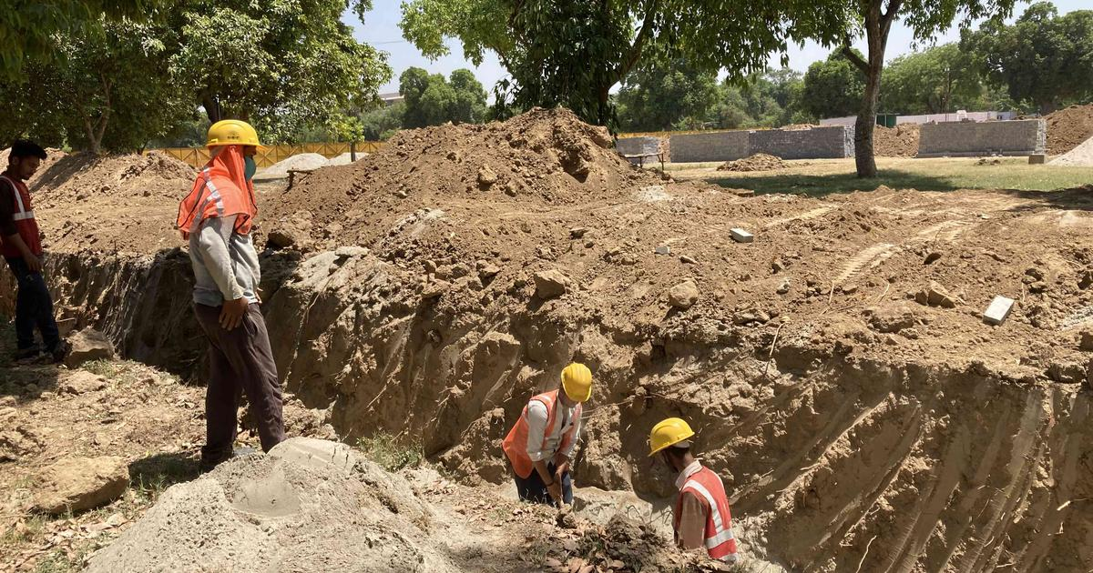 As Covid-19 devastates Delhi, Central Vista project declared an essential service, work continues