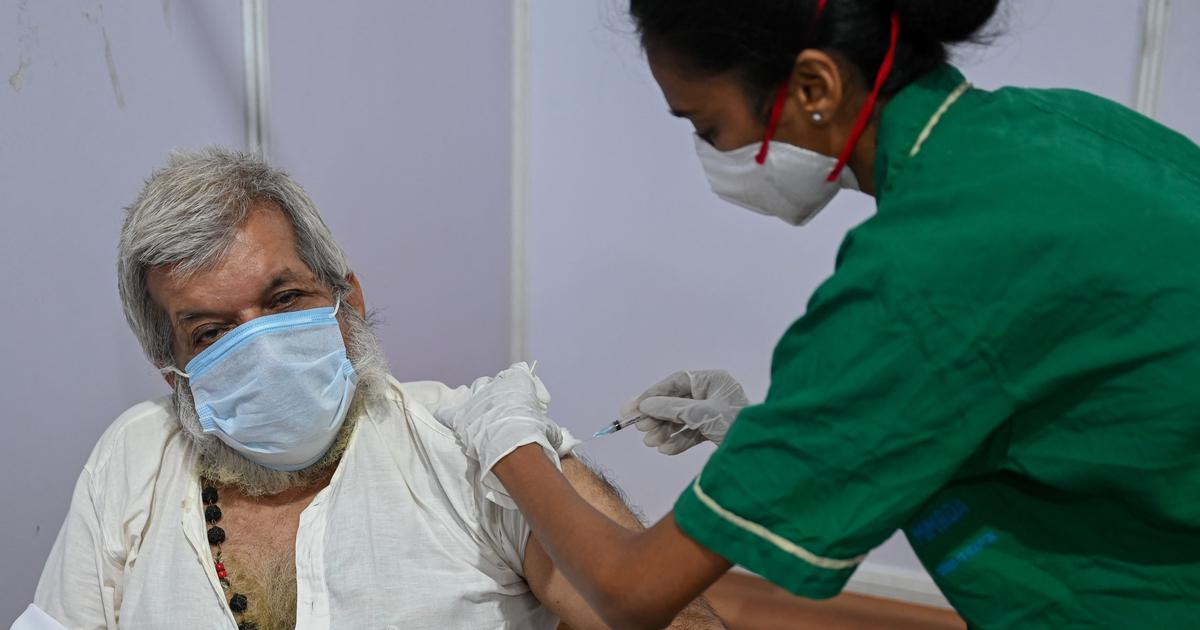 Coronavirus: Registration for vaccination open to citizens above 18 years from 4 pm on Wednesday