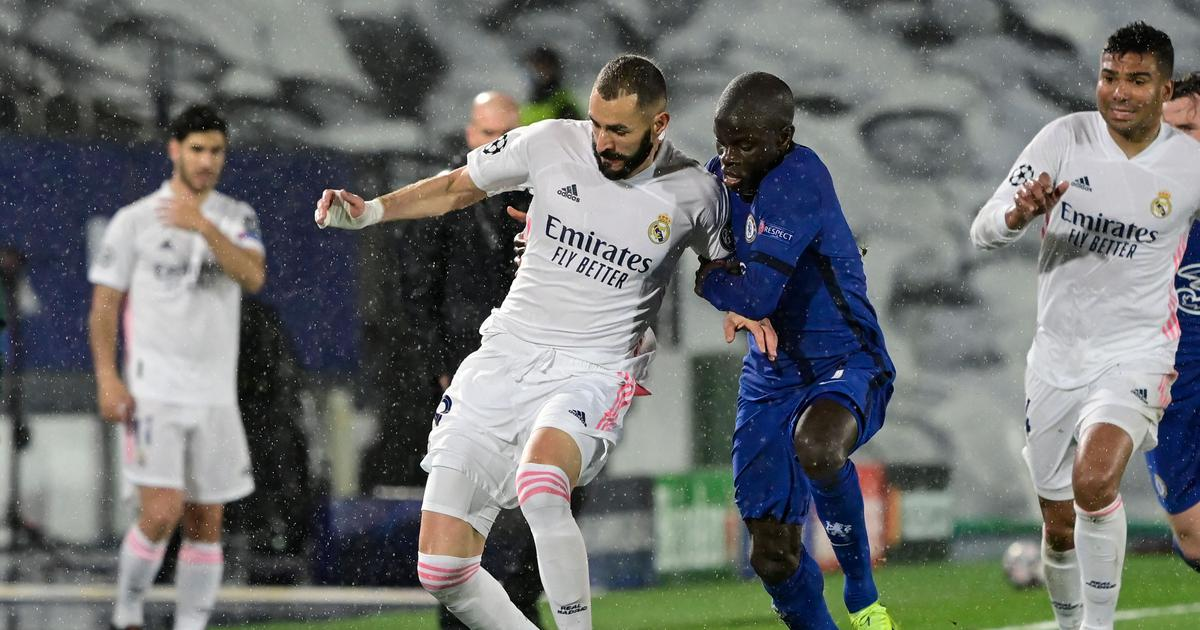 Champions League: Clinical Benzema contrasts wasteful Werner as Chelsea make aging Real Madrid toil