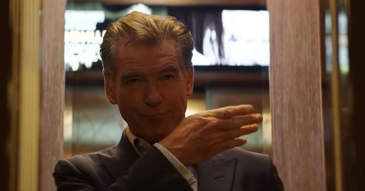 Watch: Pierce Brosnan leads 'The Misfits' in plan to steal gold from a highly secure prison
