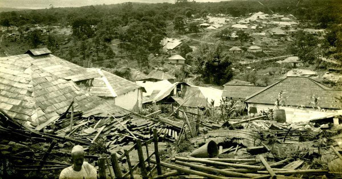 As India's North East gets a jolt, an administrator's memoirs recall the Great Earthquake of 1897
