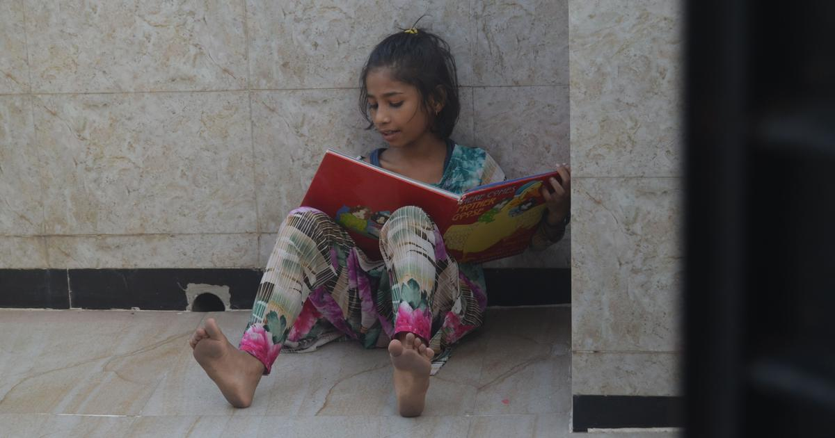 In a Mumbai slum, a library for children is battling the second wave as single-mindedly as the first