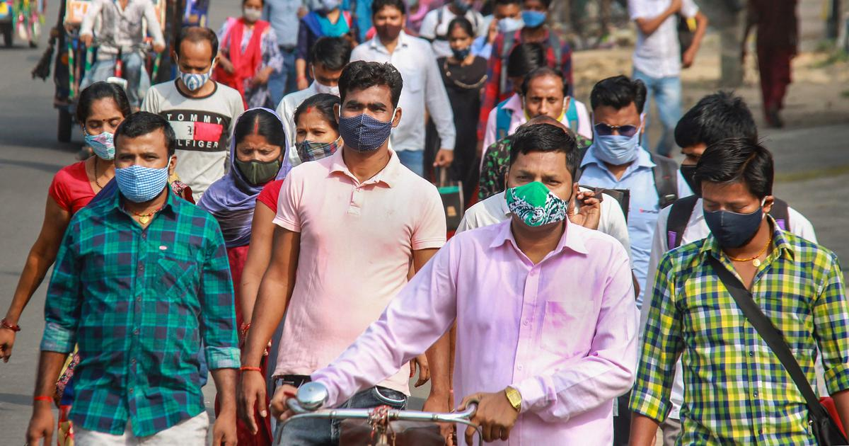 Coronavirus: With over 3.68 lakh new infections, India records slight drop in daily cases