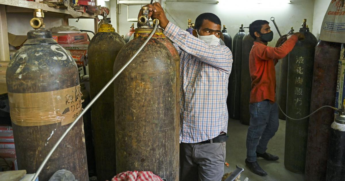 In their desperation, Indians are searching for oxygen cylinders on Google, Amazon and even YouTube