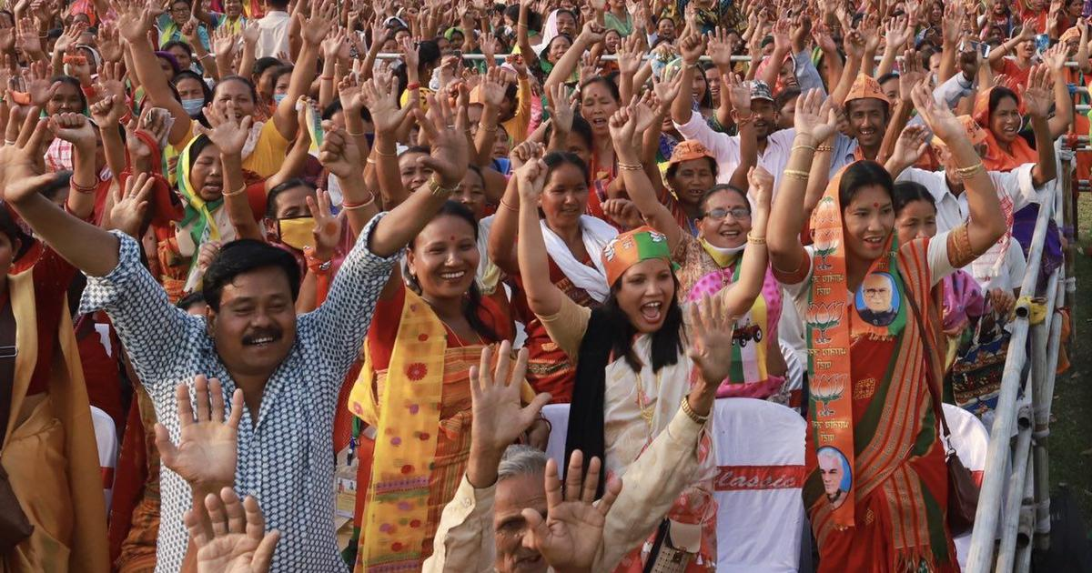 Assam verdict: 29 charts that show just how polarised the election was