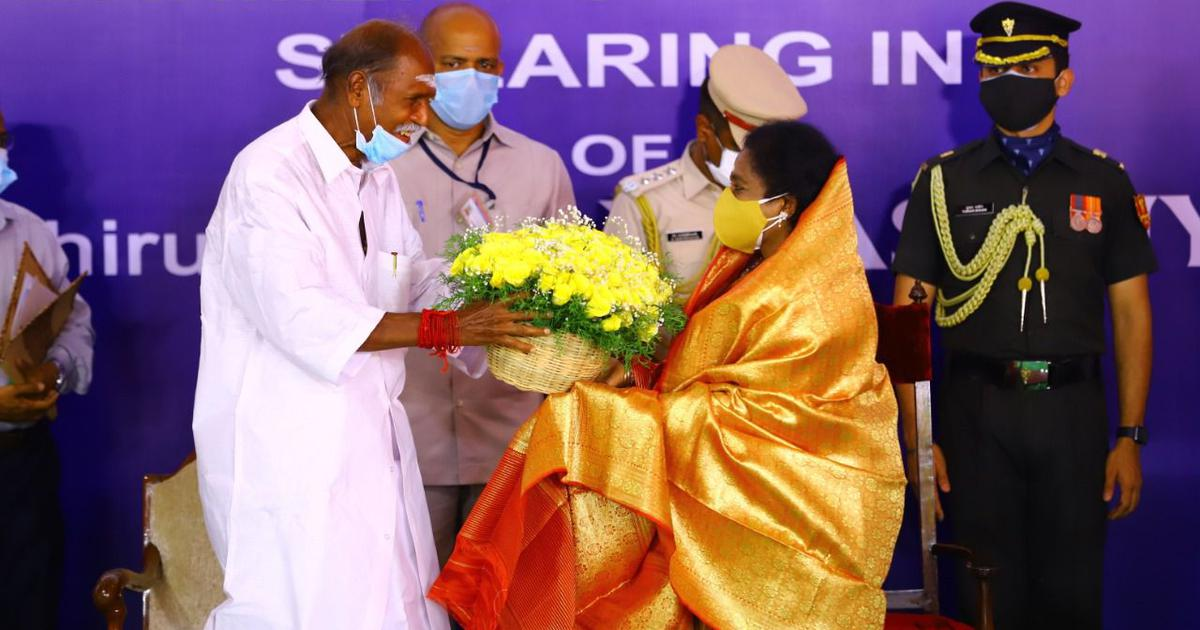 Is the BJP trying to capture power from its ally AINRC in Puducherry?