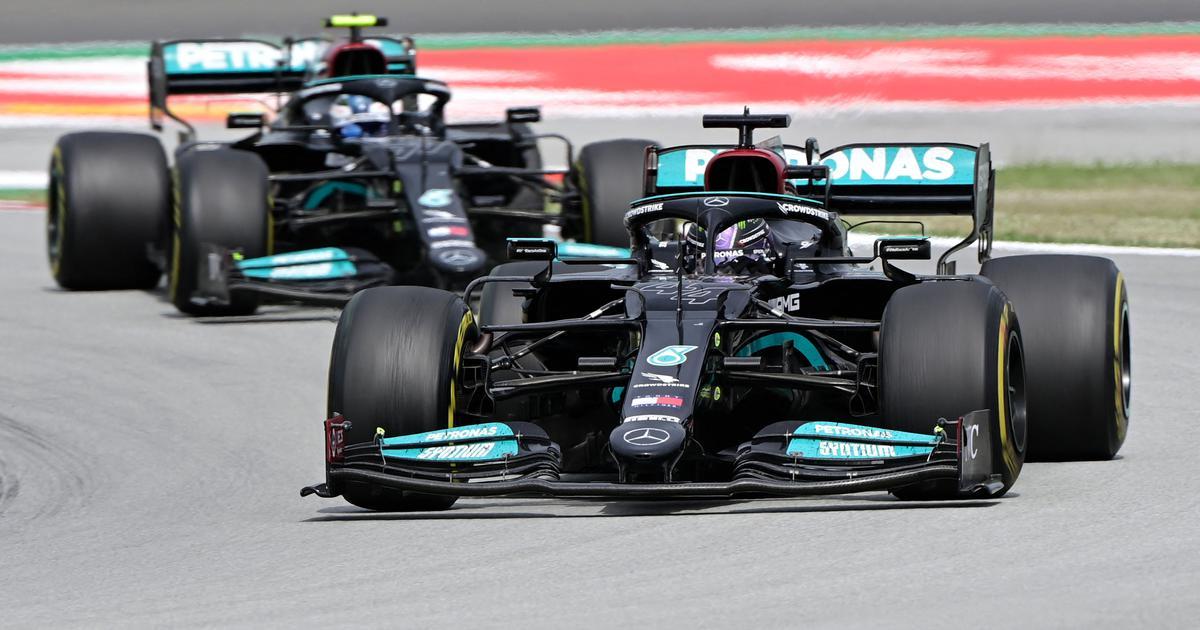Formula 1: Lewis Hamilton pips Max Verstappen to win fifth successive Spanish Grand Prix