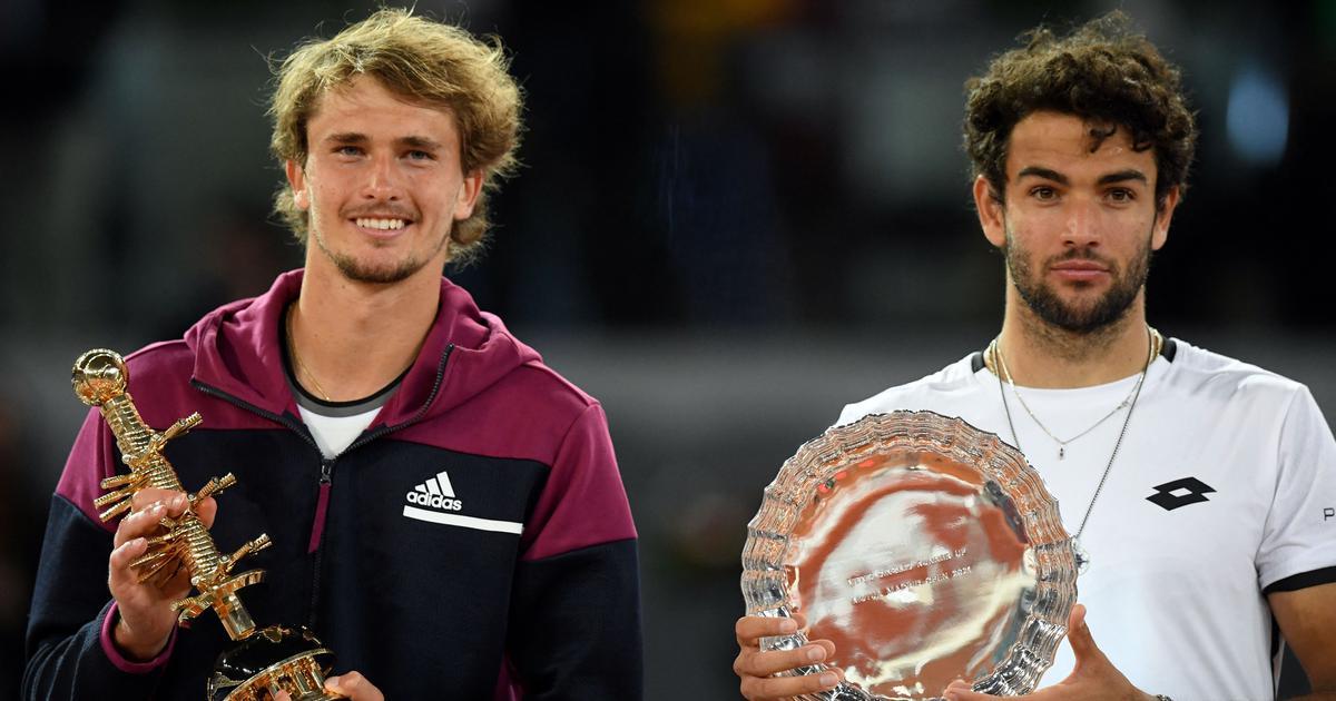 Alexander Zverev rallies to beat Matteo Berrettini and lift second Madrid Open title