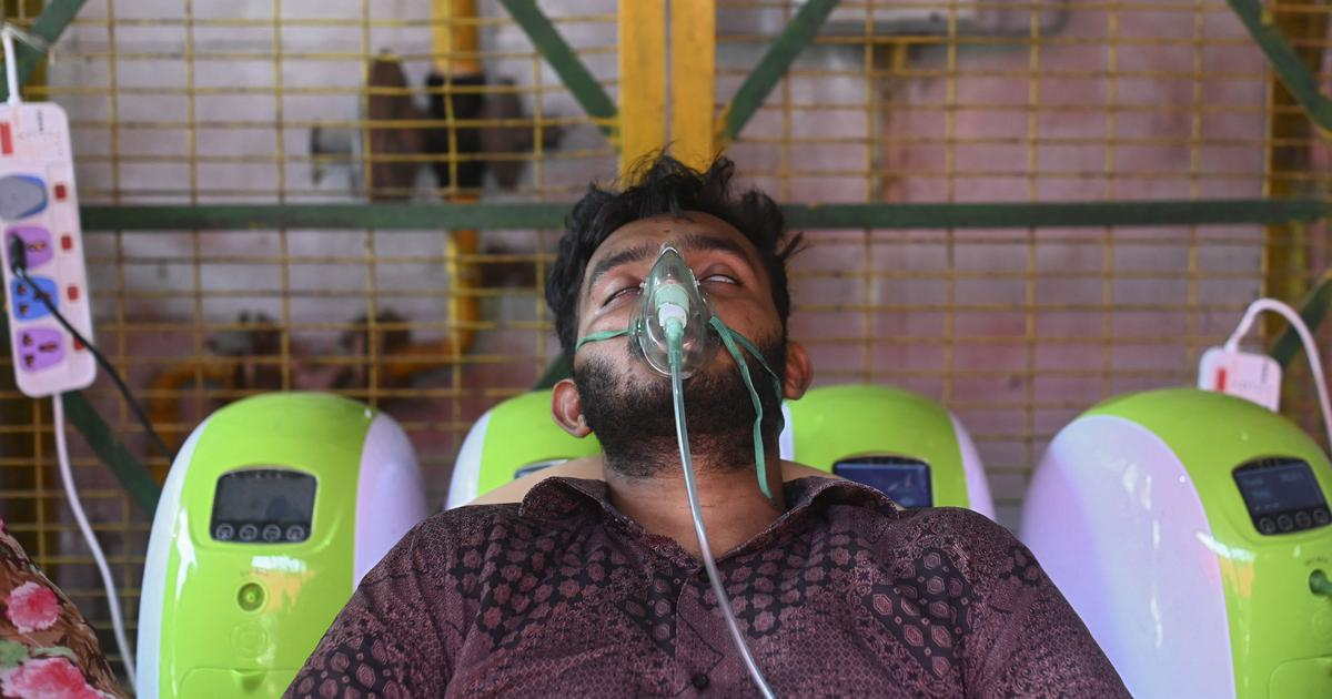 Affluent Indians are desperate to buy oxygen concentrators at any cost – but the economy is murky