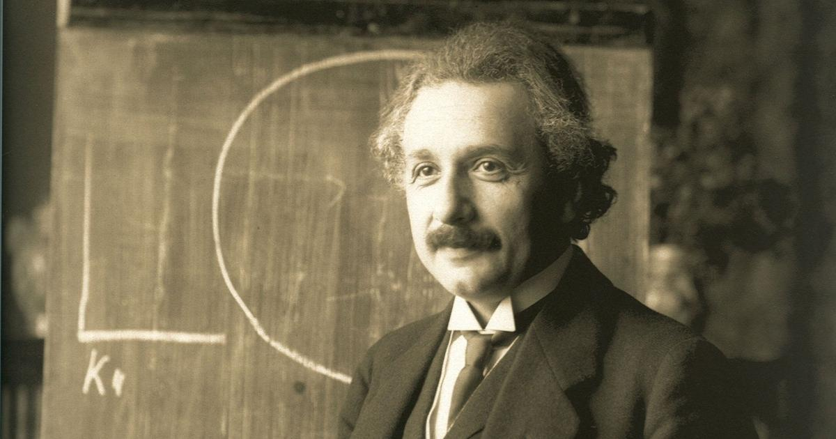 Einstein discussed a link between physics and biology in a letter, 70 years before it was confirmed