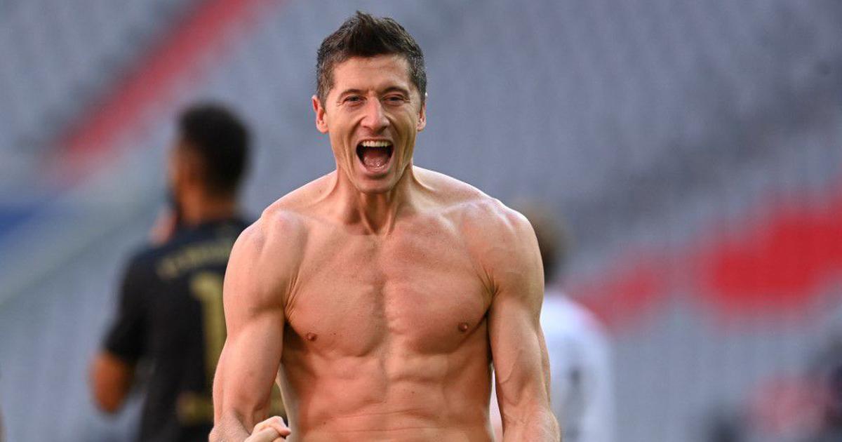 Watch: Robert Lewandowski scores record-breaking 41st Bundesliga goal in final minutes of season