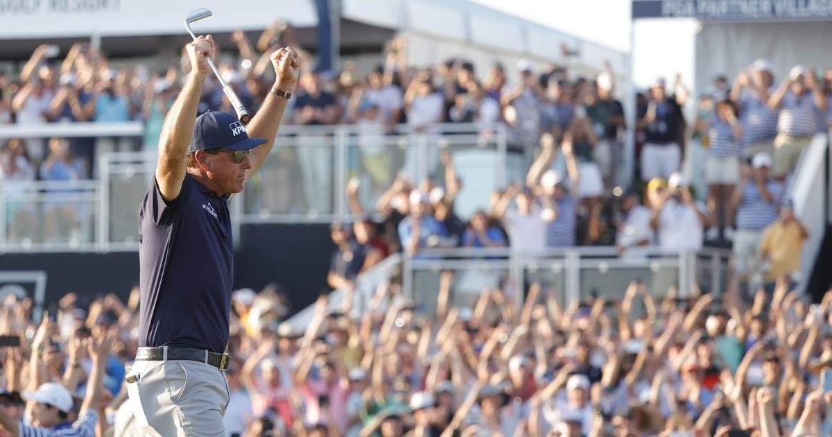 Golf: At 50, Phil Mickelson becomes the oldest major winner with epic PGA Championship win