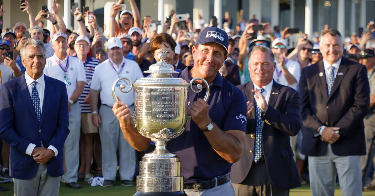 Age is just a number: Reactions to 50-year-old Phil Mickelson becoming the oldest golf Major winner