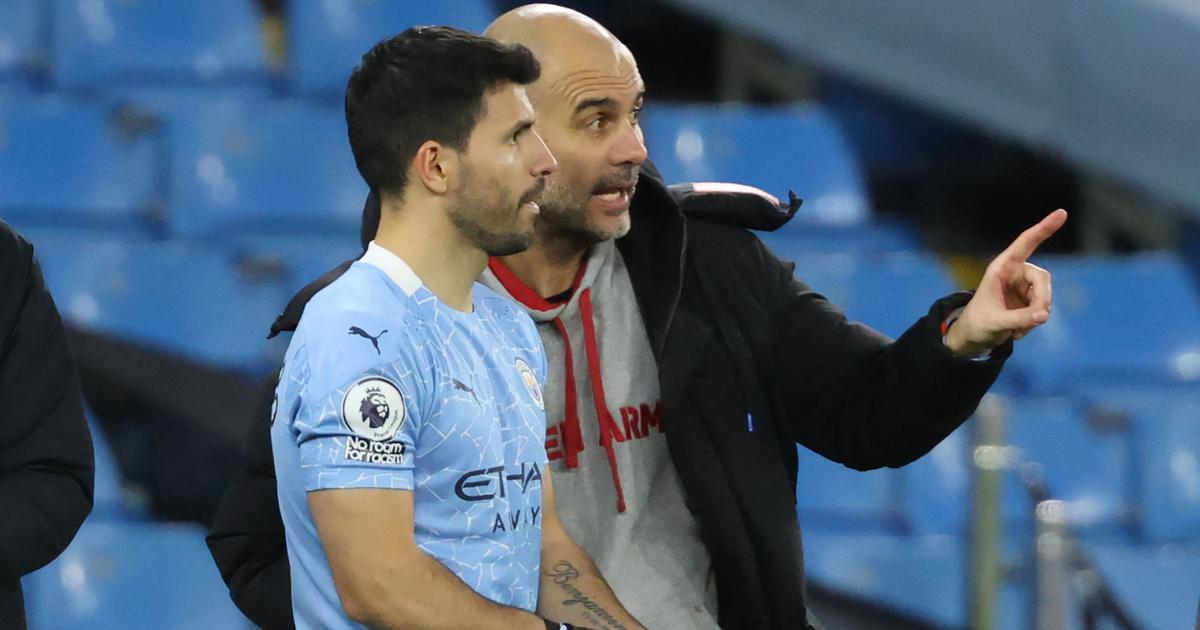 'Maybe I reveal a secret': Aguero close to Barcelona deal, says Manchester City boss Guardiola