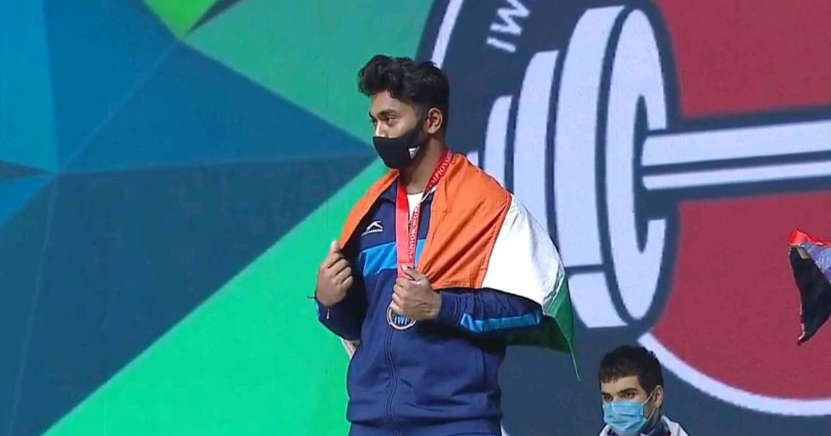 Weightlifting: India's Achinta Sheuli clinches silver medal in 73kg category at Junior World C'ships