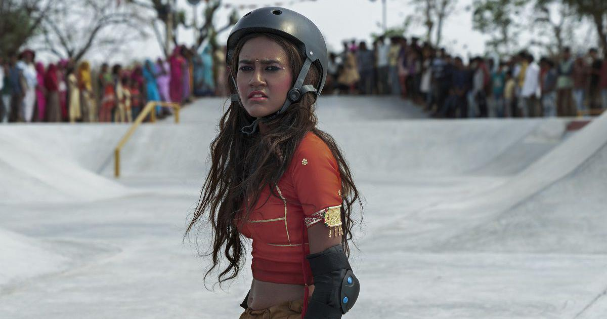 In 'Skater Girl', a teenager hops onto a skateboard and discovers flight and freedom