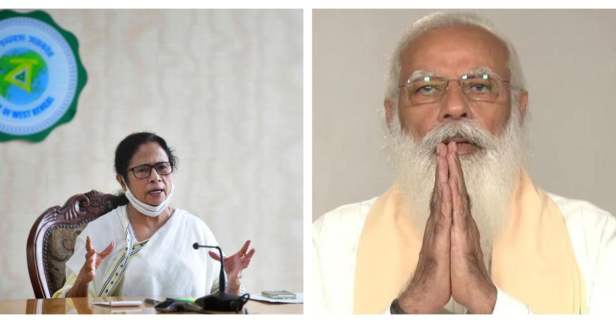 Mamata Banerjee accuses Modi of pursuing vendetta politics, says he cannot accept Bengal poll defeat