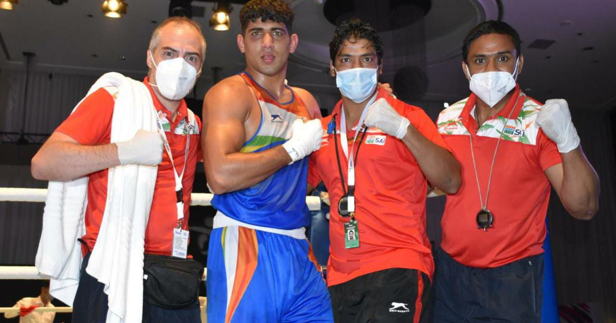 Boxing Asian C'ships: Sanjeet stuns top seed to secure gold; Amit Panghal, Shiva Thapa clinch silver