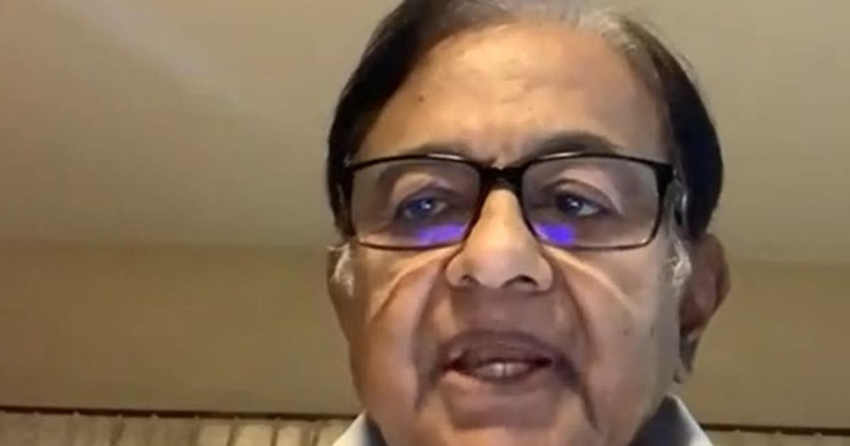 'Darkest year of economy,' says Chidambaram after GDP records sharpest contraction ever