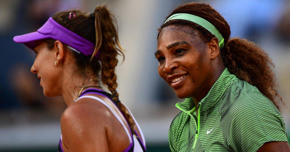 Watch: A superb rally between Serena Williams and Mihaela Buzarnescu at French Open