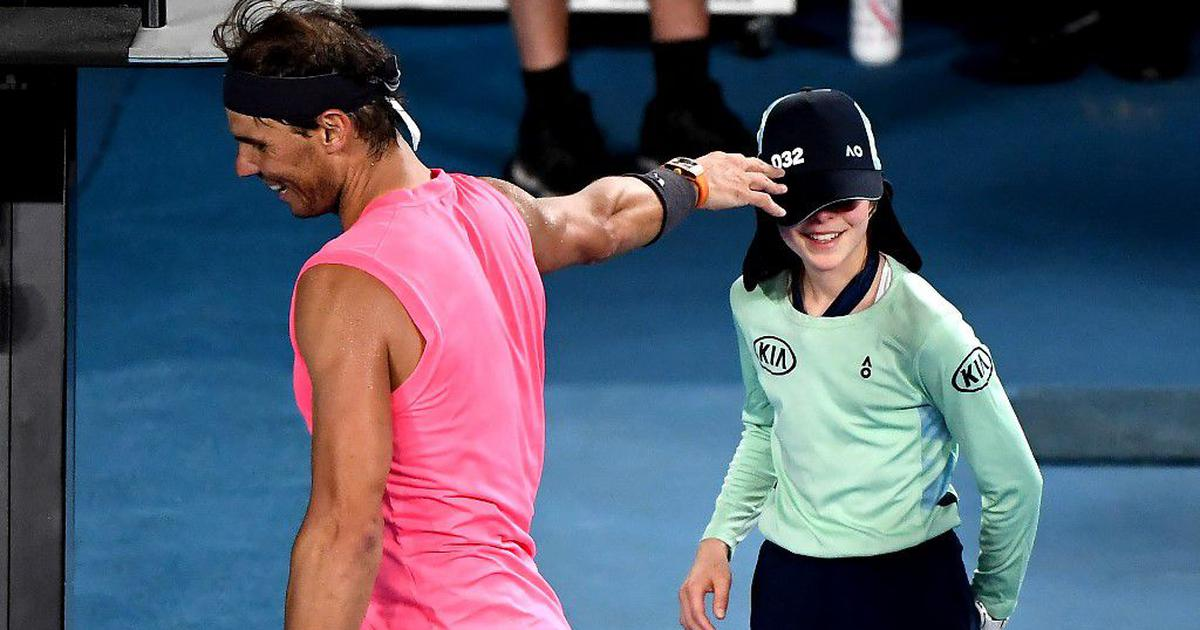 Watch: When Rafael Nadal struck ball-girl with a forehand at Australian Open and met with her later