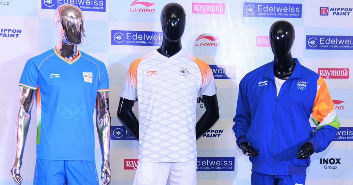 In photos: The official Team India kit and attire for Tokyo Olympic Games