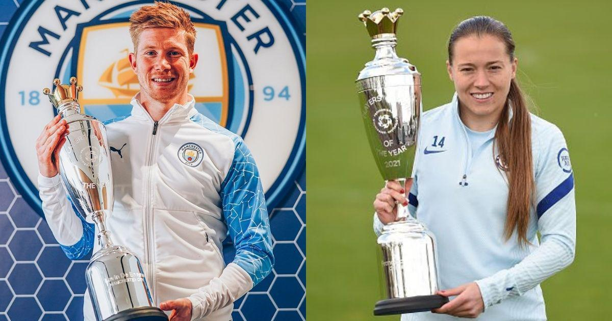 Manchester City's Kevin de Bruyne, Chelsea's Fran Kirby win PFA Player of the year awards