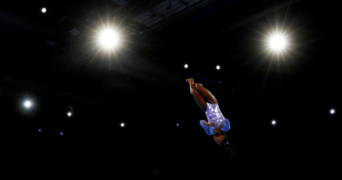 Watch: The sheer genius of superstar gymnast Simone Biles in extreme slow motion