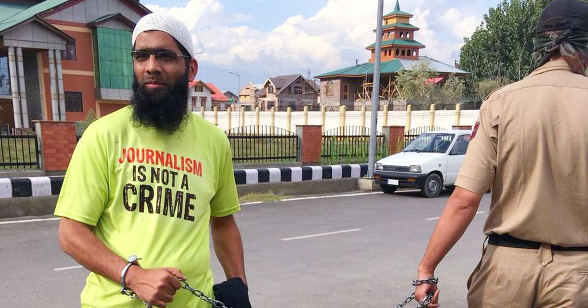Key evidence against Kashmiri journalist in jail for 1,000 days comes under cloud, records show